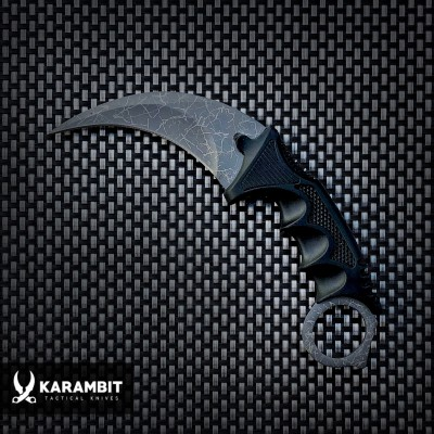 KARAMBIT Grey Crackle